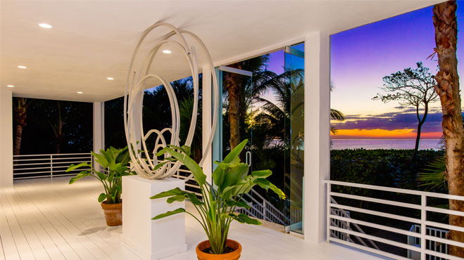 Captiva Island Home at Twilight